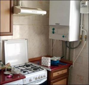 газовый котел автономного отопления
