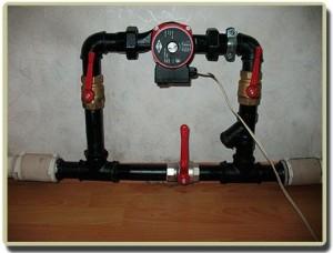 циркуляционный насос в системе отопления электрокотлом