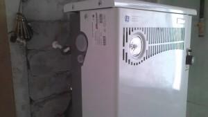 парапетный газовый котел термотехник
