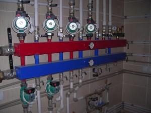 самодельный коллектор в системе отопления