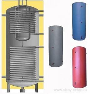 тепловой аккумулятор с внутренним теплообменником