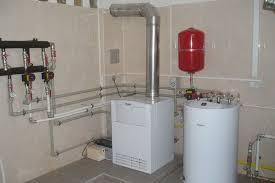 отопление напольным газовым котлом
