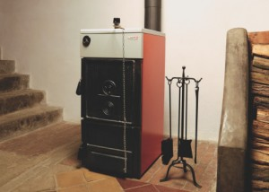 Электро дровяной котел