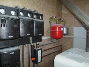 мембранный бак в системе отопления