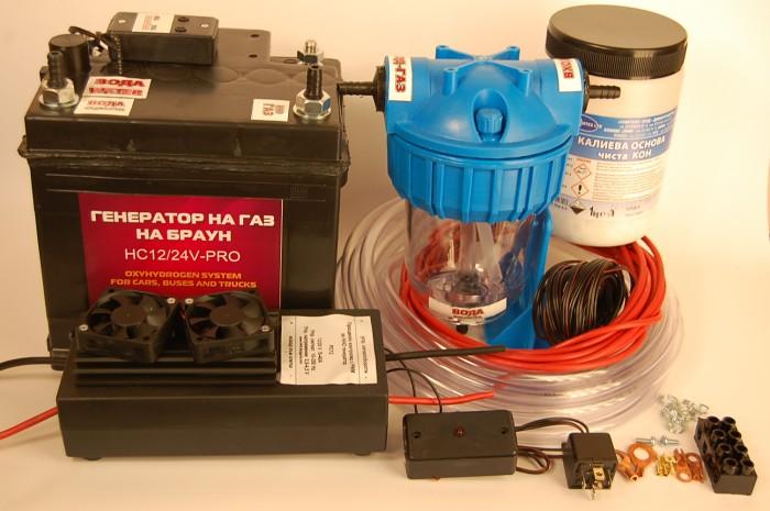 Газ брауна для отопления дома своими руками видео
