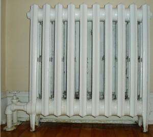 чугунный радиатор в системе отопления