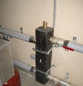 гидравлическая стрелка в системе отопления