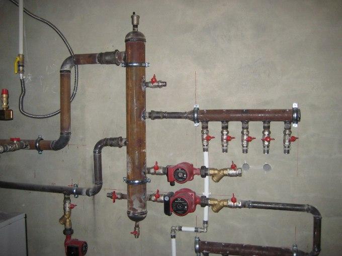 Гидрострелка своими руками отопление