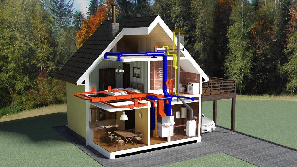Отопление частного дома экономичное