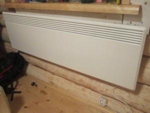 отопление дома электрическим конвектором