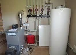 котел отопления в частном доме