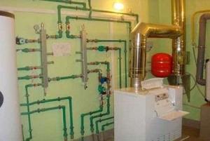 чугунный котел в системе отопления