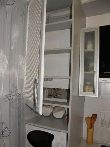 дизайн кухни с газовым настенным котлом