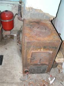 самодельный котел на твердом топливе
