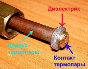 структура термопары