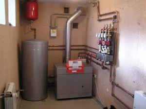 отопление дома газоэлектрическим котлом