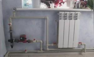 система отопления с электродным котлом