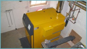 отопление дома котлом дрова-электричество