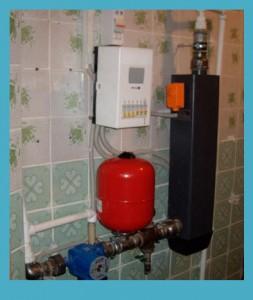 система отопления электрокотлом