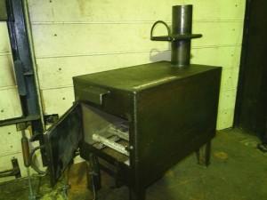установка самодельного котла на твердом топливе