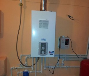 отопление турбированным газовым котлом