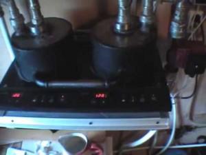 самодельный индукционный электрокотел