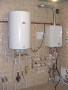 газовый котел в частном доме