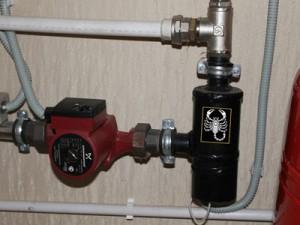скорпион в системе отопления