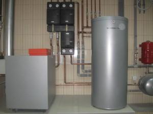 отопление дома чугунным газовым котлом