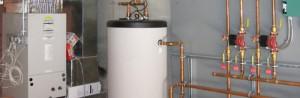 настенный газовый котел с внешним бойлером