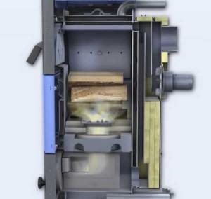 котел с верхним горением топлива