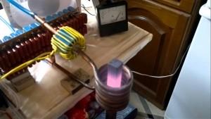 испытание индукционного нагревателя