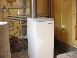 газовый напольный котел в частном доме
