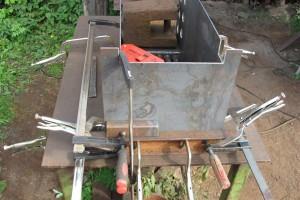 изготовление корпуса для самодельного твердотопливного котла