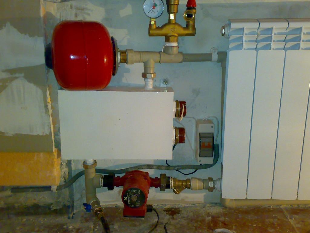 Самодельное отопление в частном доме