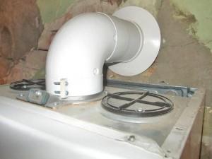 дымоход для турбированного котла