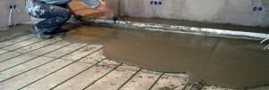наливной теплый водяной пол