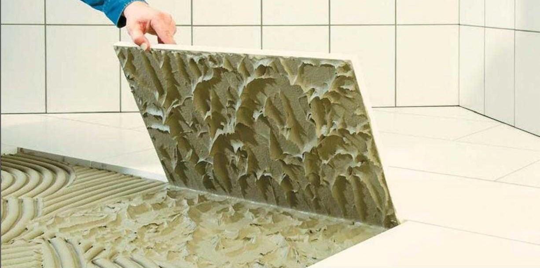 Состава для укладки керамической плитки