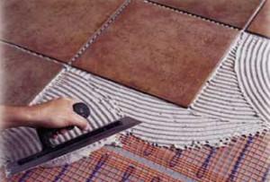 теплый пол под керамическую плитку