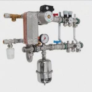 термометр в смесительном узле