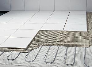 электрический теплый пол под кафель