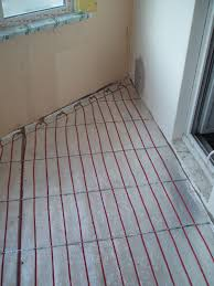 кабельная система отопления на балконе