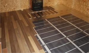 инфракрасный пол на деревянный пол