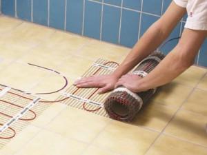 электро теплый пол в ванной