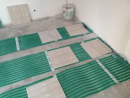 плитка на электрический теплый пол