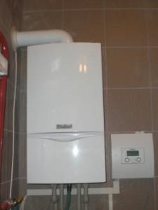 отопление в квартире 2х контурным котлом