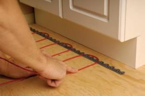 электро теплый пол на кухне